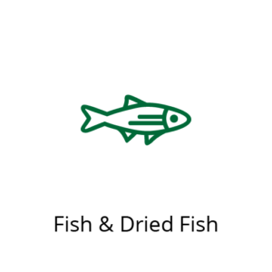 Meat, Fish & Dried Fish